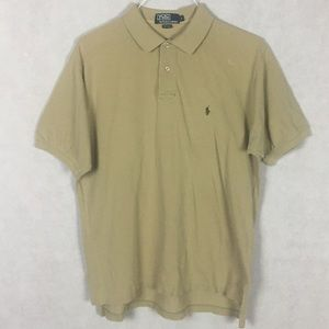 Polo Ralph Lauren Polo Shirt Cream Size Large